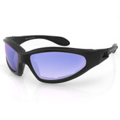GXR smoke cyan mirror sunglasses
