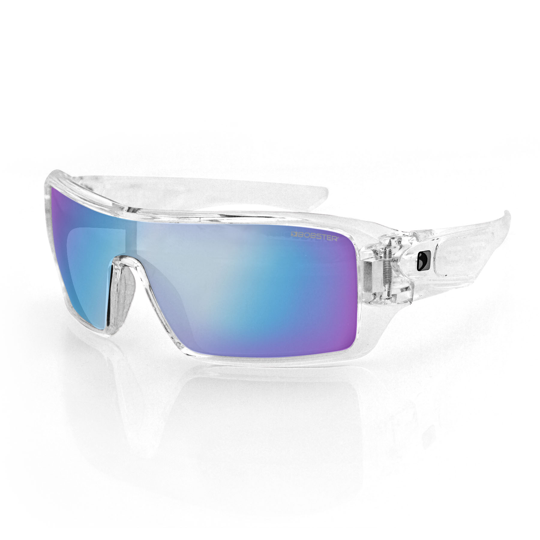 Paragon smoke cyan lens sunglasses