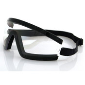 Wrap Around clear goggles