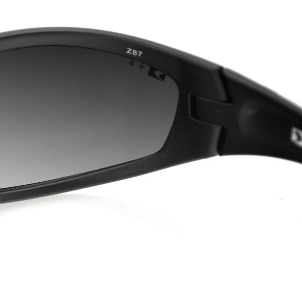 Black Zulu ballistic sunglasses