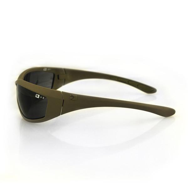 Tan Zulu ballistic sunglasses