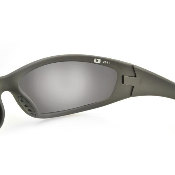 Green Zulu ballistic sunglasses